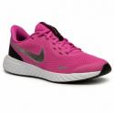 Dětská sportovní obuv (tréninková) NIKE-Revolution 5 active fuchsia / black / metallic silver -