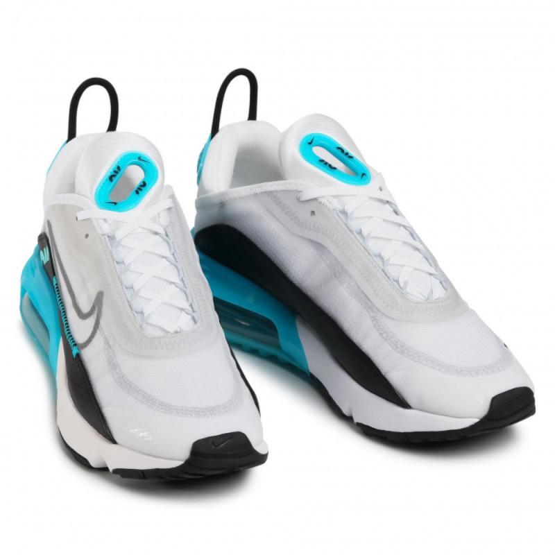 Pánská rekreační obuv NIKE-Air Max 2090 white / cool grey / dusty kaktus -