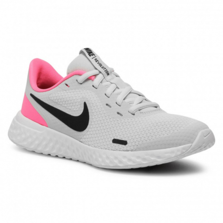 Detská športová obuv (tréningová) NIKE-Revolution 5 photon dust/hyper pink/white/black