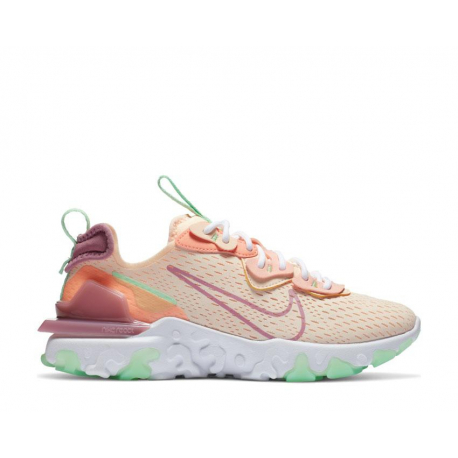 Dámská sportovní obuv (tréninková) NIKE-WMNS React Vision crimson tint / desert berry