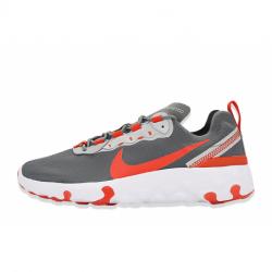 Juniorská rekreačná obuv NIKE-Renew Element 55 smoke grey/team orange/white