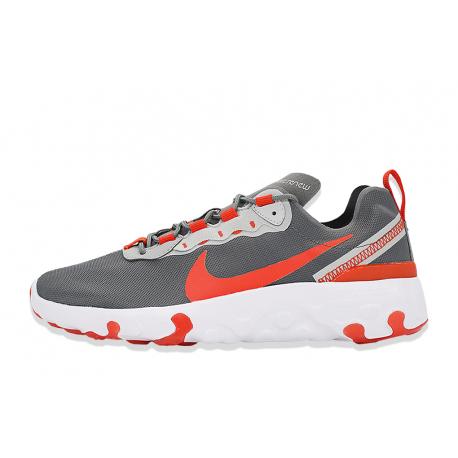 Juniorská rekreační obuv NIKE-Renew Element 55 smoke grey / team orange / white