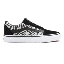 Dámska vychádzková obuv VANS-WM Ward MTLC ZBR black/white