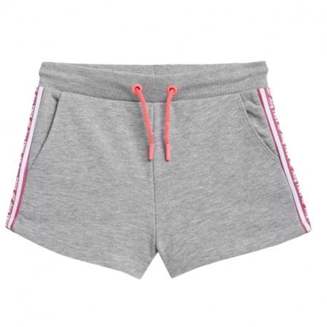 Dievčenské teplákové kraťasy 4F-GIRLS-pants-HJL21-JSKDD002A-27M-Grey