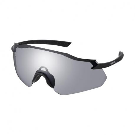 Cyklistické okuliare SHIMANO-EQUINOX4 matné čierne fotochromatické