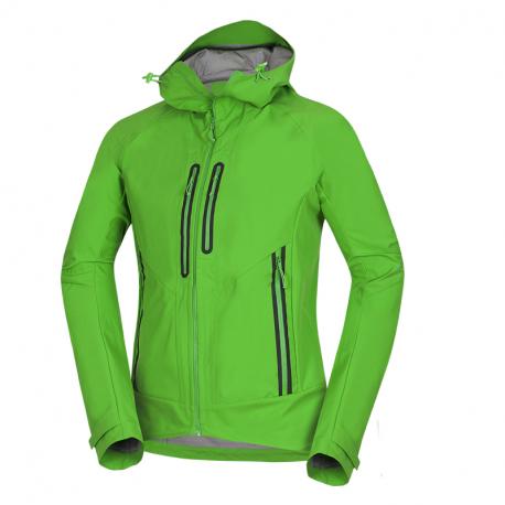 Pánska turistická softshellová bunda NORTHFINDER-ROSTON-316green