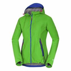 Dámska turistická softshellová bunda NORTHFINDER-ROSTLA -316green