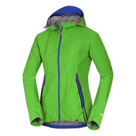 Dámská turistická softshellová bunda NORTHFINDER-rošt -316green