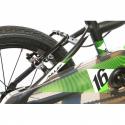 Detský horský bicykel AMULET-Mini 16 Superlite, black matt, size 16, SMU, 2020 -