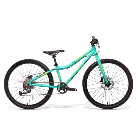 Juniorský horský bicykel AMULET-Tomcat 24, mint matt, size 24, 2020