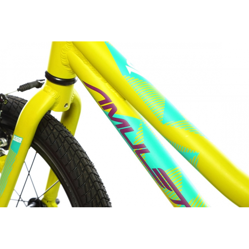Dětské horské kolo AMULET-Mini 16 Lite, green matt, size 16, SMU, 2020 -