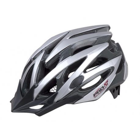 Cyklistická prilba PRO-T-Plus Tarifa In mold Silver