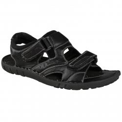 Pánska módna obuv LANCAST Black sandal velcro 2