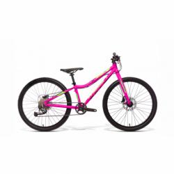 Juniorský horský bicykel AMULET-Tomcat 24, pink shine , size 24, 2020