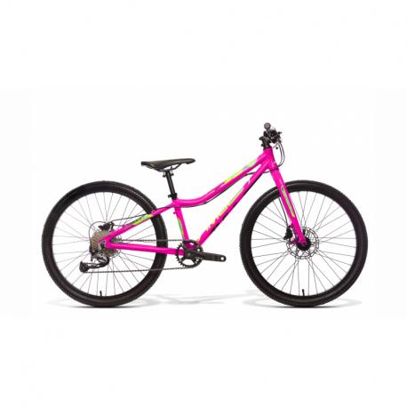 Juniorský horské kolo AMULET-Tomcat 24, pink shine, size 24, 2020