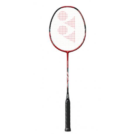 Badmintonová raketa pro pokročilé YONEX-NANOFLARE DRIVE RED