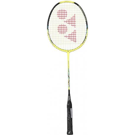 Badmintonová raketa pro pokročilé YONEX-NANOFLARE DRIVE YELLOW