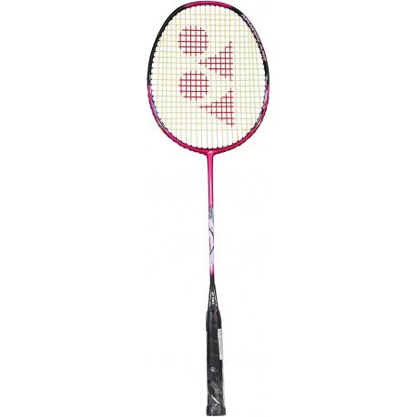 Badmintonová raketa pro pokročilé YONEX-NANOFLARE DRIVE PINK