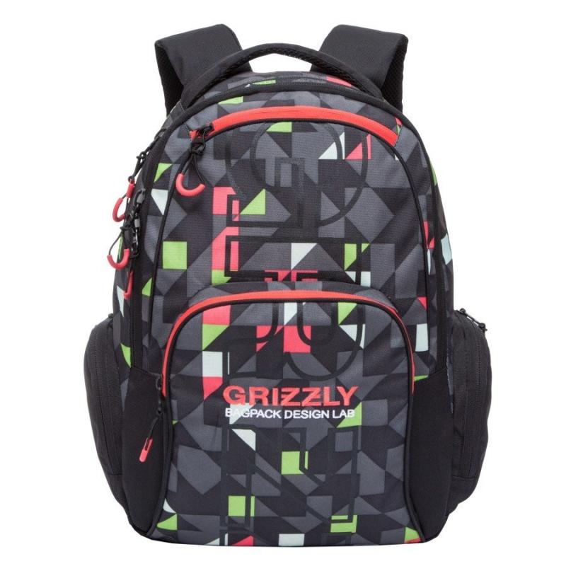 GRIZZLY-RU-709-2/3 Batoh Čierna 20L