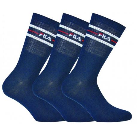 Ponožky FILA-F9092 SOCKS 3-PACK-321 NAVY
