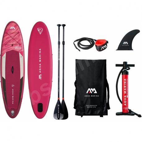 Set paddleboard a padlo AQUA MARINA-Coral 310 x 78 x 12 cm