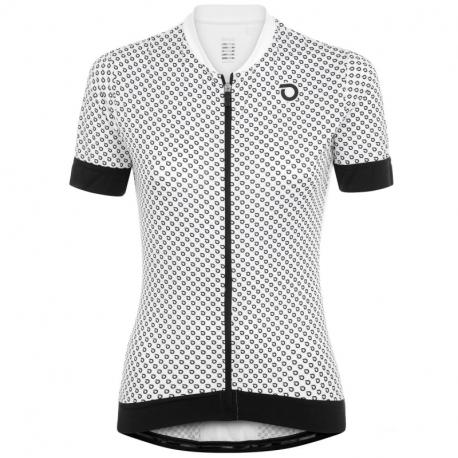 Dámský cyklistický dres s krátkým rukávem BRIKO-ULTRALIGHT LADY JERSEY 001