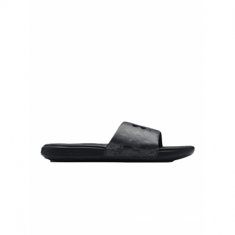 Pánska obuv k bazénu (plážová obuv) UNDER ARMOUR-UA M Ansa Graphic black