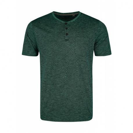Pánské triko s krátkým rukávem VOLCANO-T-WARREN-GREEN MEL