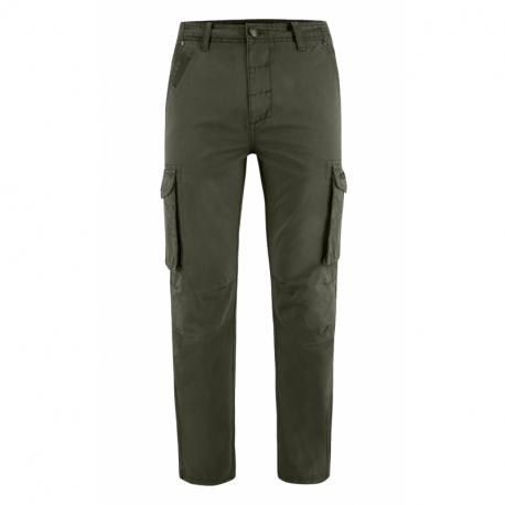 Pánské kalhoty VOLCANO-R-HAMPTER-KHAKI