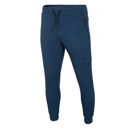 Pánske teplákové nohavice 4F-MENS TROUSERS-H4L21-SPMD012-32S-DENIM