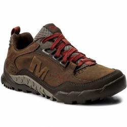 Pánska turistická obuv nízka MERRELL-ANNEX TRAK LOW Clay