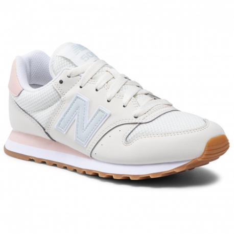 Dámská rekreační obuv NEW BALANCE-Hale beige / light blue / rose
