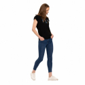 Dámske tričko s krátkym rukávom VOLCANO-T-FLY-BLACK -
