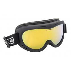 Juniorské lyžiarske okuliare BLIZZARD-Ski Gog. 907 MDAZFO, black matt, amber2-3, gold mirr