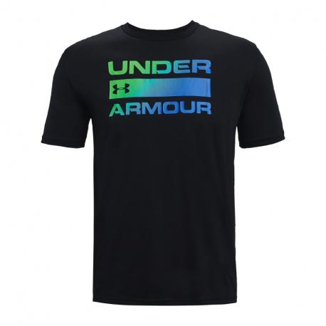 Pánske tričko s krátkym rukávom UNDER ARMOUR-UA TEAM ISSUE WORDMARK SS-BLK 004