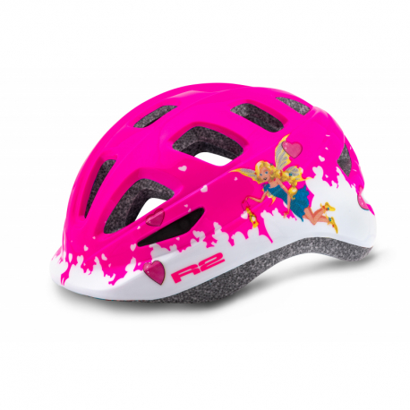 Detská cyklistická prilba R2-BUNNY Pink