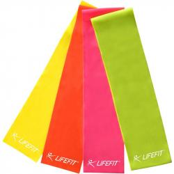 Fitness expandér LIFEFIT - Gum. stuha 120x15, 0,65mm