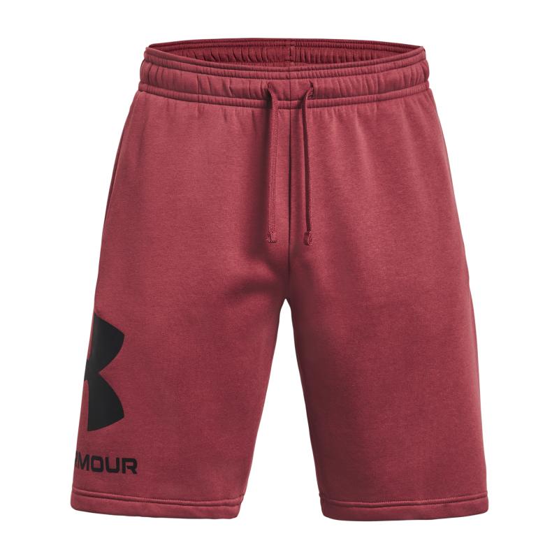 UNDER ARMOUR-UA Rival FLC Big Logo Shorts-RED Červená S