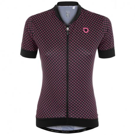 Dámský cyklistický dres s krátkým rukávem BRIKO-ULTRALIGHT LADY JERSEY 005