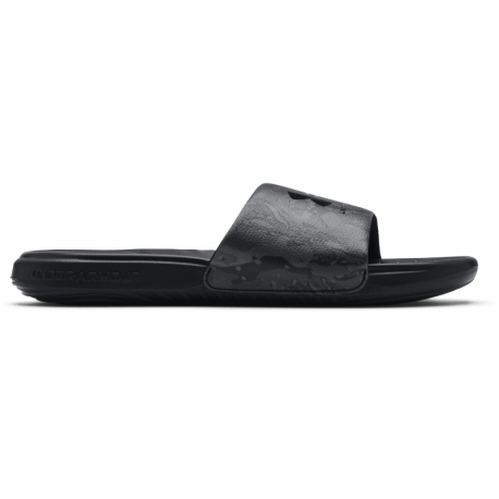Pánska obuv k bazénu (plážová obuv) UNDER ARMOUR-UA M Ansa Graphic black (EX)