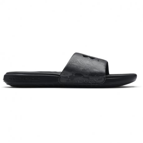 Pánské žabky (plážová obuv) UNDER ARMOUR-UA M Ansa Graphic black (EX)