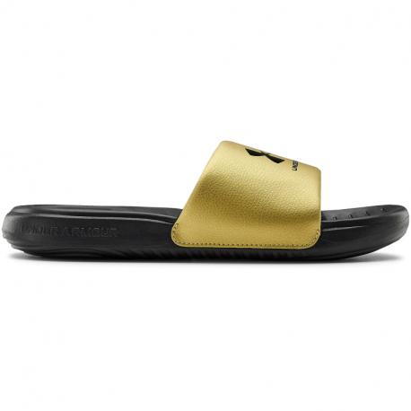 Dámske žabky (plážová obuv) UNDER ARMOUR-UA W Ansa Fixed Slides black (EX)