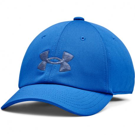 Juniorská kšiltovka UNDER ARMOUR-UA blitzing Adj Hat-BLU