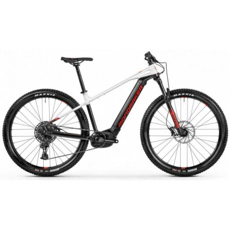 Elektrobicykel MONDRAKER-Prime, black/white, 2021