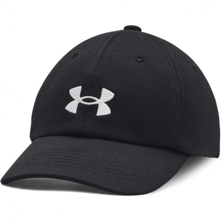 Juniorská kšiltovka UNDER ARMOUR-UA Play Up Hat-BLK