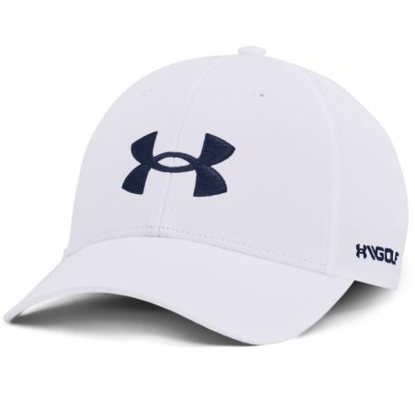 Kšiltovka UNDER ARMOUR-UA Golf96 Hat-WHT