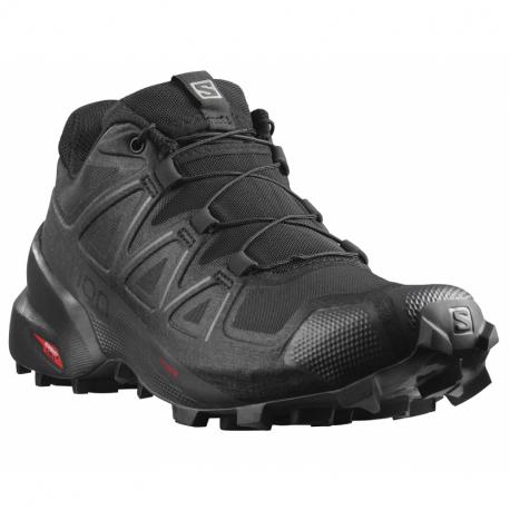 Dámská běžecká trailová obuv Salomon-Speedcross 5 W black / black / phantom