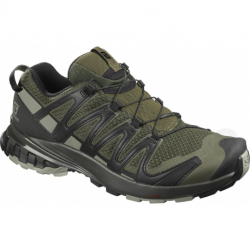 Pánska bežecká trailová obuv SALOMON-XA PRO 3D V8 grape leaf/peat/shad