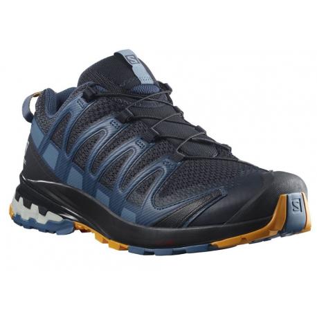 Pánská běžecká trailová obuv Salomon-XA PRO 3D V8 Niska / dark denim / butte