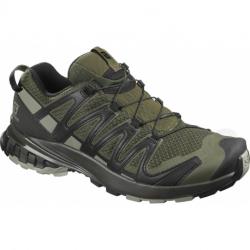 Pánska bežecká trailová obuv SALOMON-XA PRO 3D V8 grape leaf/peat/shad (EX)